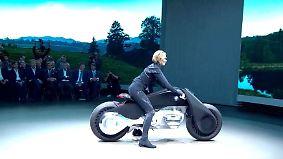 Cool und spacig: So stellt sich BMW die Fahrzeuge der Zukunft vor