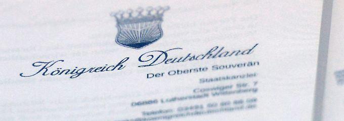 """Für """"Reichsbürger"""" ist jede Staatsform denkbar - nur keine Bundesrepublik Deutschland."""