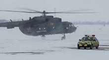 Ein Hubschrauber des Typs Mi-8 (Archivbild).
