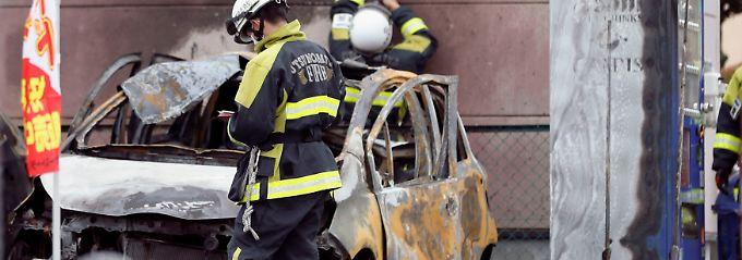 Ein Toter, drei Verletzte: Explosionen erschüttern Stadt in Japan