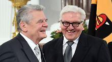 Wer will, wer kann, wer wird gefragt?: Diese Namen kursieren als Gauck-Nachfolger