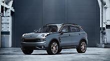 Der chinesische Großkonzern Geely hat seine neue Automarke Lynk&Co und den Erstling 01 vorgestellt.