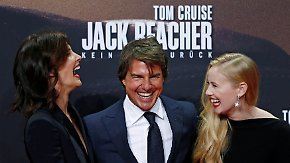 """Jack Reacher""-Filmpremiere in Berlin: Tom Cruise geht in die Charmeoffensive"