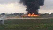 Fünf Franzosen sterben: Kleinflugzeug verunglückt in Malta