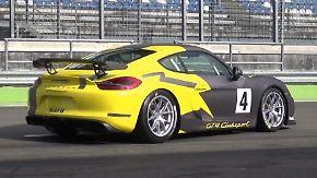 Von der Straße auf die Strecke: Track-Test für den Porsche Cayman GT4 Clubsport