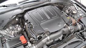 Der V6 leistet im Jaguar XF dank Kompressoraufladung 340 PS und generiert 450 Newtonmeter Drehmoment.