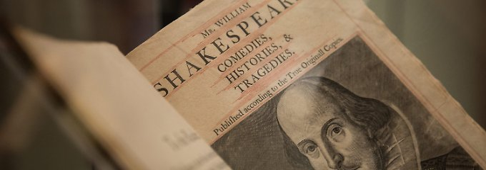 Posthume Ehrung für Mitverfasser: Shakespeare bekommt Co-Autoren