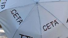 Kritiker von Ceta feiern derzeit Wallonien für den Widerstand gegen das Freihandelsabkommen.