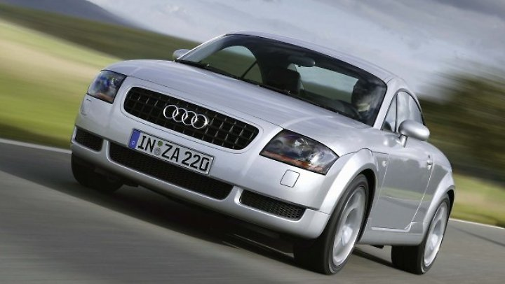 Der erste Audi TT kostet derzeit weit weniger als 10.000 Euro.