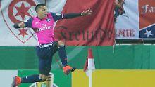 Favoritensiege im DFB-Pokal: Wood sorgt für Hamburger Glücksgefühle
