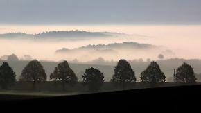 Nachts und morgens dichter Nebel: Ruhiges Herbstwetter setzt sich durch