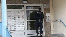 Nach Anti-Terror-Razzia: Polizei stellt Chemikalie sicher