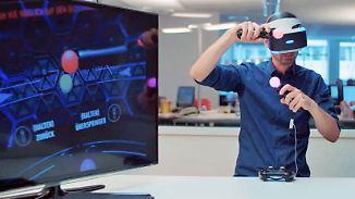 n-tv Ratgeber: Der erste Blick: Playstation VR von Sony
