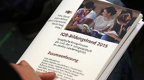 """Bundesländervergleich """"IQB-Bildungstrend"""": Neuntklässler mausern sich in Englisch und Rechtschreibung"""