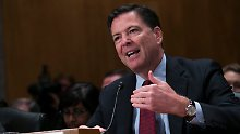 Hillary Clintons E-Mail-Affäre: FBI-Direktor Comey gerät in die Kritik