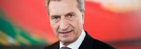 """""""Schlitzaugen"""", """"Homo-Pflichtehe"""": Oettinger verteidigt umstrittene Rede"""