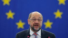 """Schulz: """"Abkommen wird Standard setzen"""": Ceta von EU und Kanada unterzeichnet"""