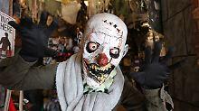 Spuk vorbei nach Halloween?: Mann erfindet Horrorclown-Verfolgungsjagd
