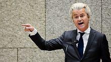 Prozessauftakt in den Niederlanden: Rechtspopulist Wilders bleibt Gericht fern