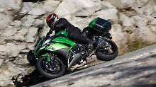Nach der Überarbeitung erinnert die Kawasaki Z1000SX stark an die supersportlichen Ninja-Modelle.
