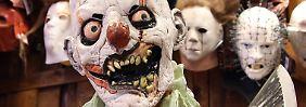 Im Vorfeld von Halloween hatte die Polizei vielerorts davor gewarnt, sich als Horrorclown zu verkleiden.