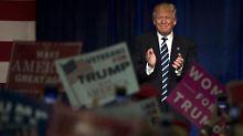 Schlussspurt im Wahlkampf: Trump hat Clinton wieder in Sichtweite