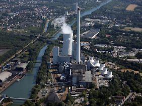 Steag-Heizkraftwerk in Herne.