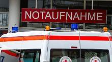 """Krankenhäuser """"absolut überlastet"""": Ärzte fordern Security für Notaufnahmen"""