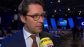 """Andreas Scheuer im n-tv Interview: """"Rot-Rot-Grün verhindern, schweißt uns zusammen"""""""