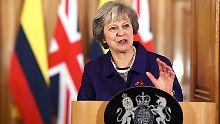 Drohungen gegen Parlamentarier: May warnt vor Unterminierung des Brexit