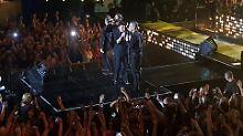 Fans sind fassungslos: Robbie Williams mit Take That vereint