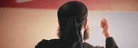 Abu Walaa zeigte sich in Internetvideo stets von hinten.