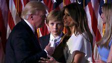"""""""Ich würde sie daten"""": Die schrecklich nette Familie des Donald Trump"""
