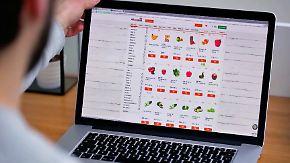n-tv Ratgeber: Onlineshops für Lebensmittel im Test