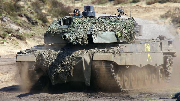 Großkunde Türkei: 350 Leopard II (hier bei einer Bundeswehrübung) besitzt die türkische Armee.