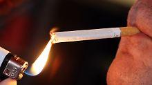 Rauchen für die Industrie: Tabaksteuer steigt jährlich