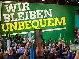 """Die Grünen entscheiden sich für den Antrag, der einem Kompromiss noch am nächsten kommt, einer Vermögenssteuer nur für """"Superreiche""""."""