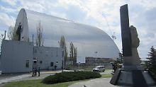 Mammutkonstruktion wird verschoben: Tschernobyl bekommt eine neue Schutzhülle
