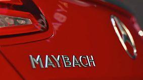 Neues von der LA Autoshow: Maybach setzt auf Luxus pur, Jaguar auf Strom