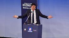 Matteo Renzi verlangt von der EU-Kommission mehr Spielraum.