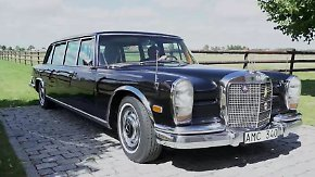 Eine der weltweit teuersten Limousinen: Mercedes 600 Pullman ist rarer Luxus