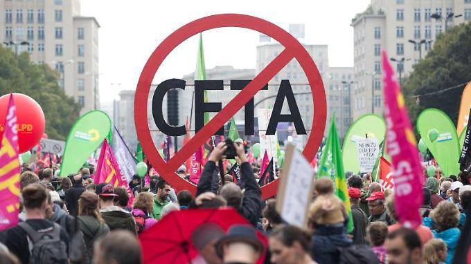 Am Freihandelsabkommen Ceta gab es auch in Deutschland scharfe Kritik.