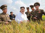 """""""Dieser Kerl spielt keine Spielchen"""" - der künftige US-Präsident Donald Trump über Nordkoreas Diktator Kim Jong-Un."""