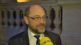 """Im Interview mit n-tv: Schulz: """"K-Frage"""" steht noch aus"""