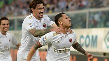 Der AC Mailand scheint die Kurve gekratzt zu haben.