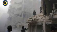 Bomben auf Aleppo: USA verurteilen Luftangriffe auf Kliniken