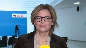 """Julia Klöckner zur vierten Kandidatur: """"Merkel geht nicht mit dem Kopf durch die Wand"""""""