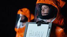 Amy Adams spielt die Linguistin Louise, die die Sprache der Außerirdischen übersetzen soll.