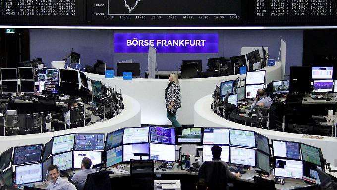 Der größte, aber längst nicht der einzige Handelsplatz in Deutschland: Die Deutsche Börse in Frankfurt.