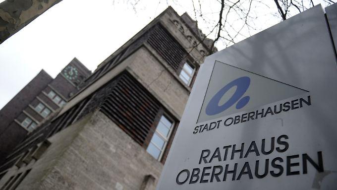Nach wie vor am höchsten ist die Pro-Kopf-Verschuldung in Oberhausen.